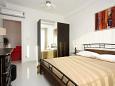 Podstrana, Bedroom u smještaju tipa apartment, dostupna klima.