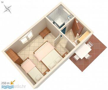 Studio flat AS-6085-c - Apartments and Rooms Podgora (Makarska) - 6085