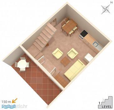 Apartment A-6086-b - Apartments Podgora (Makarska) - 6086