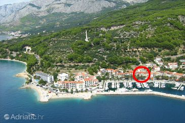 Podgora, Makarska, Property 6086 - Apartments blizu mora with pebble beach.