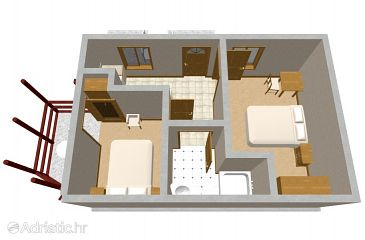Apartment A-610-a - Apartments Babine Kuće (Mljet) - 610