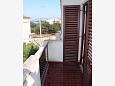Balcony 1 - Apartment A-6102-a - Apartments Petrčane (Zadar) - 6102