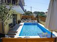 Courtyard Zadar (Zadar) - Accommodation 6128 - Apartments with pebble beach.