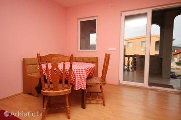 Posedarje, Dining room u smještaju tipa apartment, dopusteni kucni ljubimci.