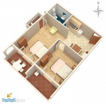Apartment A-6155-d - Apartments Vrsi - Mulo (Zadar) - 6155