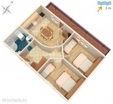 Apartment A-6163-a - Apartments Mali Iž (Iž) - 6163