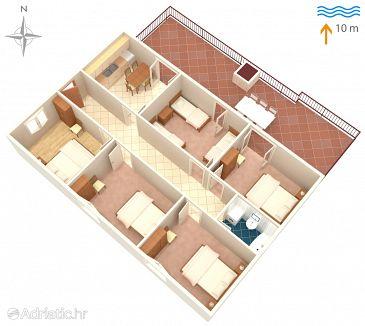 House K-617 - Vacation Rentals Prožurska Luka (Mljet) - 617