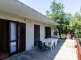 Terrace - House K-617 - Vacation Rentals Prožurska Luka (Mljet) - 617