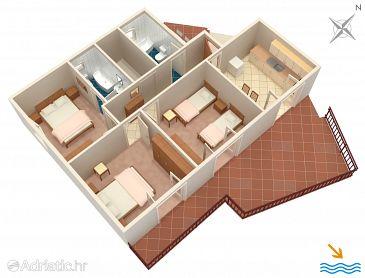 Apartment A-618-a - Apartments Prožurska Luka (Mljet) - 618