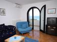 Kožino, Living room u smještaju tipa apartment, dostupna klima i WIFI.