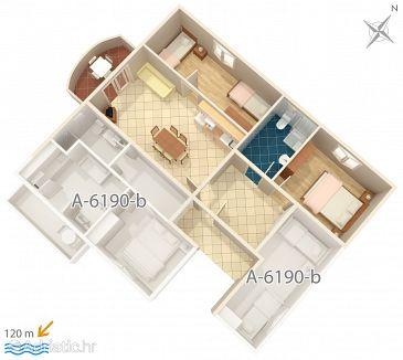 Apartment A-6190-a - Apartments Posedarje (Novigrad) - 6190