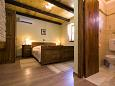 Posedarje, Bedroom 2 u smještaju tipa house, dostupna klima i WIFI.