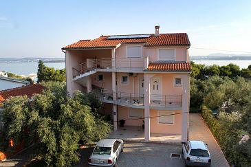Property Tkon (Pašman) - Accommodation 6215 - Apartments near sea with sandy beach.