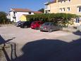 Parking lot Vodice (Vodice) - Accommodation 6236 - Apartments with pebble beach.