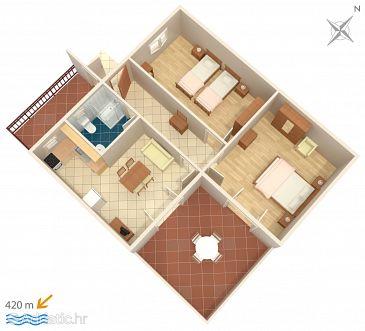 Apartment A-6237-a - Apartments Tribunj (Vodice) - 6237