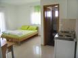 Bedroom - Studio flat AS-6244-a - Apartments Ljubač (Zadar) - 6244