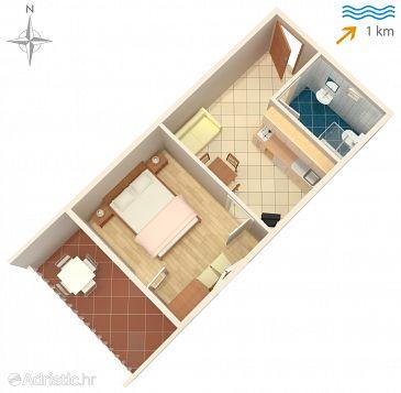 Apartment A-6258-b - Apartments Sabunike (Zadar) - 6258