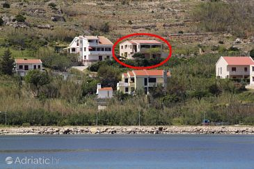 Property Pag (Pag) - Accommodation 6272 - Apartments near sea with pebble beach.