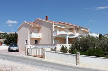 Property Kustići (Pag) - Accommodation 6287 - Apartments with pebble beach.