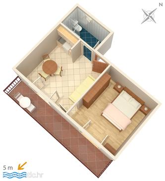 Apartment A-630-a - Apartments Podobuče (Pelješac) - 630