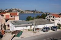 Apartments by the sea Stara Novalja (Pag) - 6301