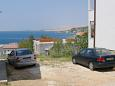 Metajna, Pag, Parking lot 6337 - Apartments with sandy beach.
