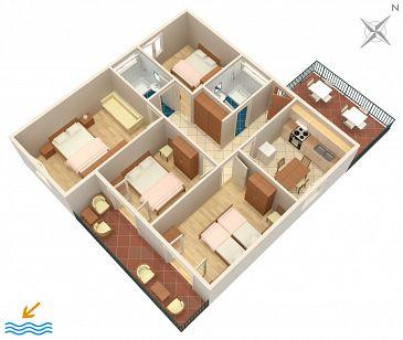 Apartment A-634-a - Apartments Viganj (Pelješac) - 634
