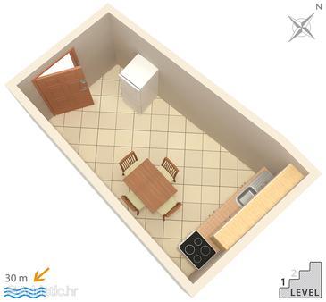 Apartment A-6356-g - Apartments Zubovići (Pag) - 6356