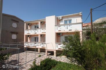 Property Metajna (Pag) - Accommodation 6378 - Rooms near sea with pebble beach.