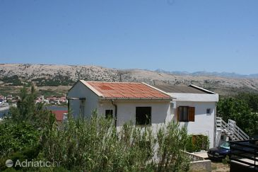 Property Pag (Pag) - Accommodation 6382 - Apartments with pebble beach.
