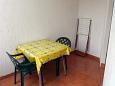 Pag, Terrace u smještaju tipa studio-apartment, dopusteni kucni ljubimci i WIFI.