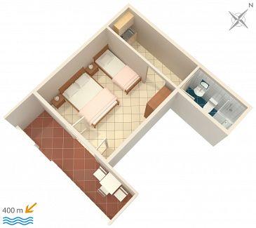 Studio AS-639-c - Apartamenty Mokalo (Pelješac) - 639