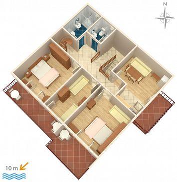 Apartament A-6390-a - Apartamenty Stara Novalja (Pag) - 6390