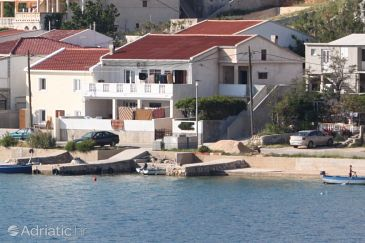 Property Metajna (Pag) - Accommodation 6395 - Apartments near sea with pebble beach.