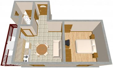 Apartment A-640-c - Apartments Orebić (Pelješac) - 640