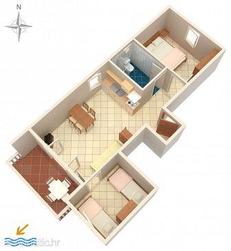 Apartment A-6405-d - Apartments Mandre (Pag) - 6405