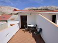 Terrace - Apartment A-6421-d - Apartments Metajna (Pag) - 6421