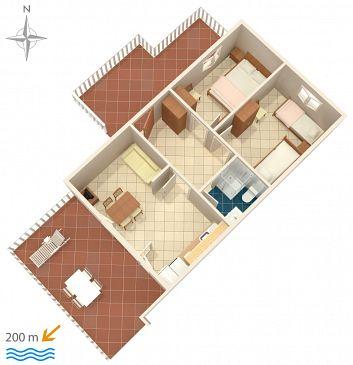 Apartment A-6426-a - Apartments Metajna (Pag) - 6426