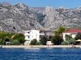 Property Seline (Paklenica) - Accommodation 6440 - Apartments and Rooms near sea with pebble beach.