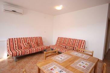 Sveti Petar, Living room u smještaju tipa apartment, dostupna klima i WIFI.