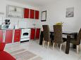 Kitchen - Apartment A-6447-a - Apartments and Rooms Pirovac (Šibenik) - 6447
