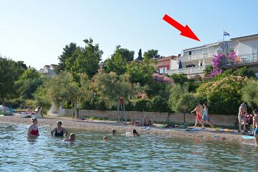 Property Pirovac (Šibenik) - Accommodation 6447 - Apartments and Rooms near sea with pebble beach.