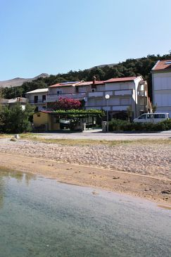 Property Pag (Pag) - Accommodation 6448 - Apartments near sea with sandy beach.