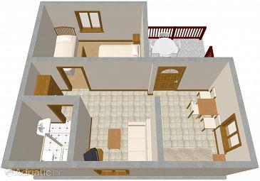 Apartment A-646-b - Apartments Orebić (Pelješac) - 646