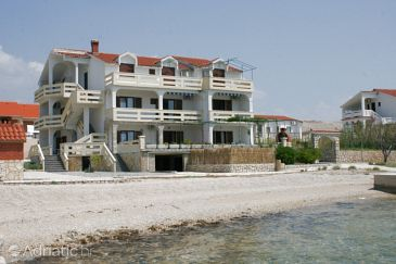 Property Kustići (Pag) - Accommodation 6472 - Apartments near sea with pebble beach.