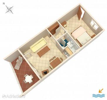 Apartment A-6474-a - Apartments Mandre (Pag) - 6474