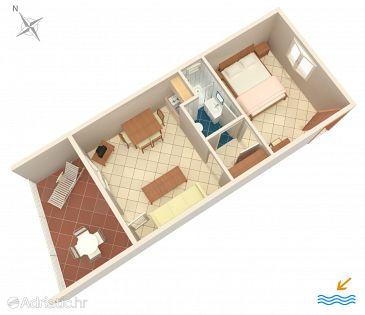 Apartment A-6474-b - Apartments Mandre (Pag) - 6474