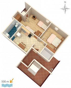 Apartament A-6478-b - Apartamenty Bilo (Primošten) - 6478