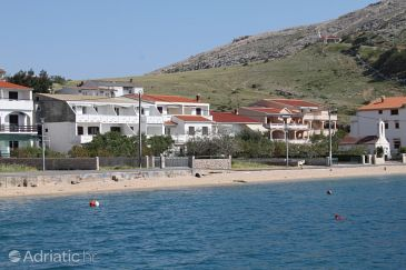 Property Metajna (Pag) - Accommodation 6486 - Apartments near sea with sandy beach.