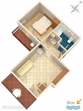 Apartment A-651-b - Apartments Pisak (Omiš) - 651
